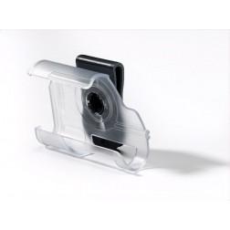 Clip-Case transparent schwarz - für Accu-Chek Spirit Combo, 1 Stück