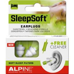 Alpine Sleepsoft Ohrstöpsel, 2 Stück