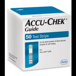 Accu-Chek Guide Blutzuckerteststreifen, 50 Stück