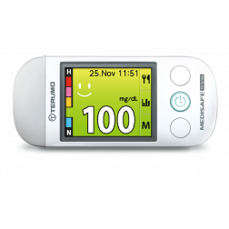 Terumo Medisafe Fit Smile Blutzuckermessgerät - 1 Set mg/dl