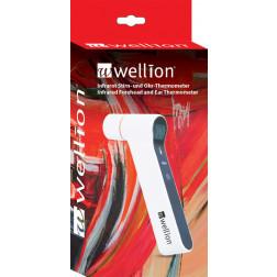 Wellion Infrarot Stirn- und Ohr-Thermometer