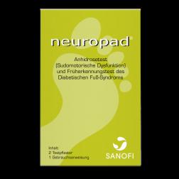 Neuropad Anhidrosetest, 1 Stück