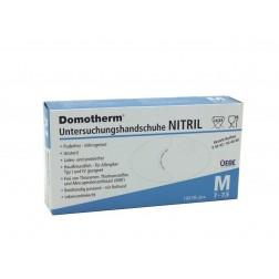 Domotherm U-Handschuhe Nitril M, 100 Stück