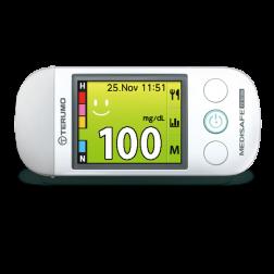 Terumo Medisafe Fit Smile Blutzuckermessgerät - 1 Set mmol/l