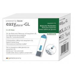 EasyPharm Blutzuckerteststreifen, 50 Stück