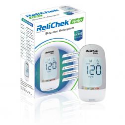 ReliChek Halo Blutzuckermessgerät - 1 Set mg/dl oder mmol/L