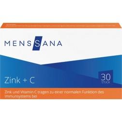 Zink+ C MensSana, 30 Lutschtabletten
