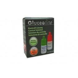 Gluceofine - Kontrolllösung Normal + Hoch, 2 x 3,5 ml, 1 Stück