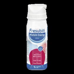 Fresubin Protein Energy Drink Walderdbeere Trinkflasche, 4 x 200 ml