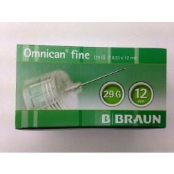 Omnican fine 0,33 x 12 mm 29G - Pen Nadeln, 100 Stück