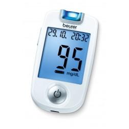 Beurer GL 40 Blutzuckermessgerät - 1 Set, mg/dl