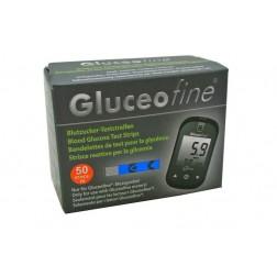 Gluceofine Blutzuckerteststreifen, 50 Stück