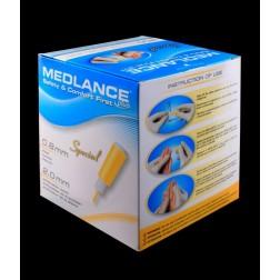 Medlance Plus Special - Sicherheitslanzetten 0,8 mm x 2 mm - Klinge, 200 Stück