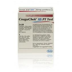 CoaguChek XS PT Teststreifen, 48 Stück (2 x 24 Stück)