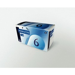 NovoFine 31 G 6 mm - Pen Nadeln, 100 Stück