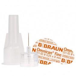 Omnican fine 0,25 x 8 mm 31G - Pen Nadeln, 100 Stück