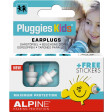 Alpine Pluggies Kids Ohrstöpsel, 2 Stück