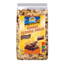 Dinkel-Schoko-Müsli, 2 kg, 1 Stück