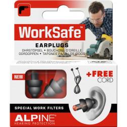 Alpine Worksafe Ohrstöpsel, 2 Stück